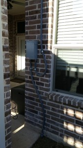 outdoor electrical panel in Grapevine